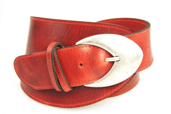 Formgürtel Damen S7013 red