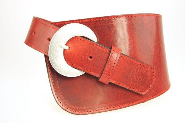 Damen Formgürtel S8011 red