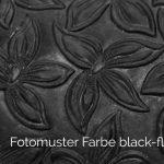 black-floral